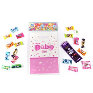 Little Baby Girl Theme Loot Bag (6/Pack), Size 24*16CM