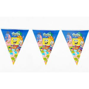 Spongy Bob Theme Banner (12 Flags/Pack)