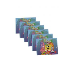 Spongy Bob Theme Invitation (6 Pcs/Pack)