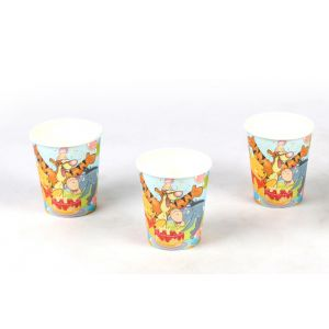 Winnie The Pooh Theme 9Oz Paper Cup (6 Pcs/Pack)