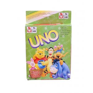 Winnie The Pooh Uno Playing Cards For Kids