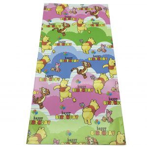 Winnie The Pooh Cloud Effect Wrapping Paper (10 Pcs/Pack)