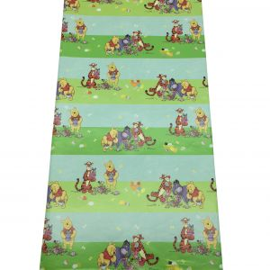 Winnie The Pooh Green Wrapping Paper (10Pcs/Pack)