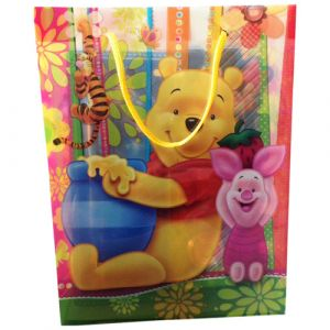 Funcart Winnie the Pooh plastic gift Bag (pack of 6)