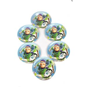 Toy Story Theme 7 Inches Disposable Paper Plate (6 Pcs /Pack)
