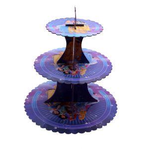 Three Princess Cupcake Stand