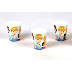 Three Princess Theme 9Oz Paper Cup (6 Pcs/Pack)