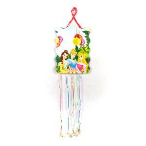 Three Princess Theme Party Pull String Pinata (Khoi Bag)