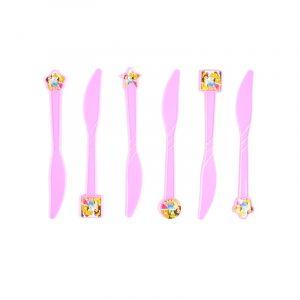 Three Princess Theme Knife (6 Pcs/Pack)