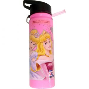 Funcart Princess Plastic bottle with wrist band for easy carrying