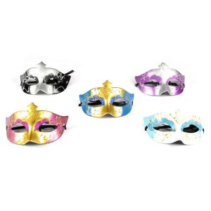 Glittery Eye Mask - Assorted Colors (Pack Of 5)
