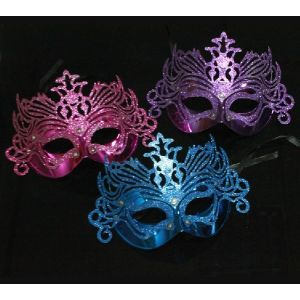 Fancy Eye Mask (Pack Of 3) Assorted Colors