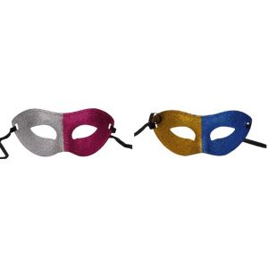 Dual Color Glitter Eye Mask (Pack Of 2)