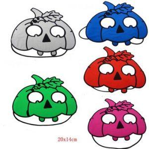 Spooky Halloween Eye Mask  - Pumpkin ( 1 Pc/Pack)