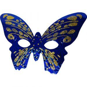 Funcart Blue & Gold Butterfly Eye Mask (pack of 6)