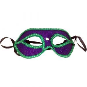 Funcart Venetian Glitter Masquerade Purple Eye Mask, 1pcs/pack, size approx (L*B) 25*8 CM